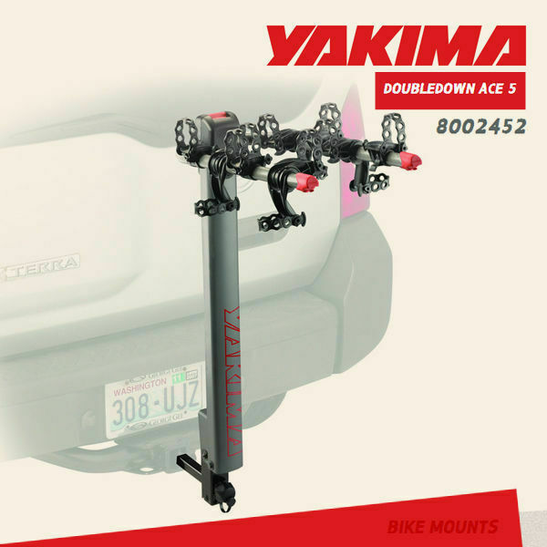 Buy Yakima Doubledown Ace 5 Bikes Bicycles Hitch Mount