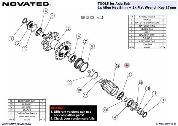 buy novatec mountain bike hubs 32 holes d811sb d812sb