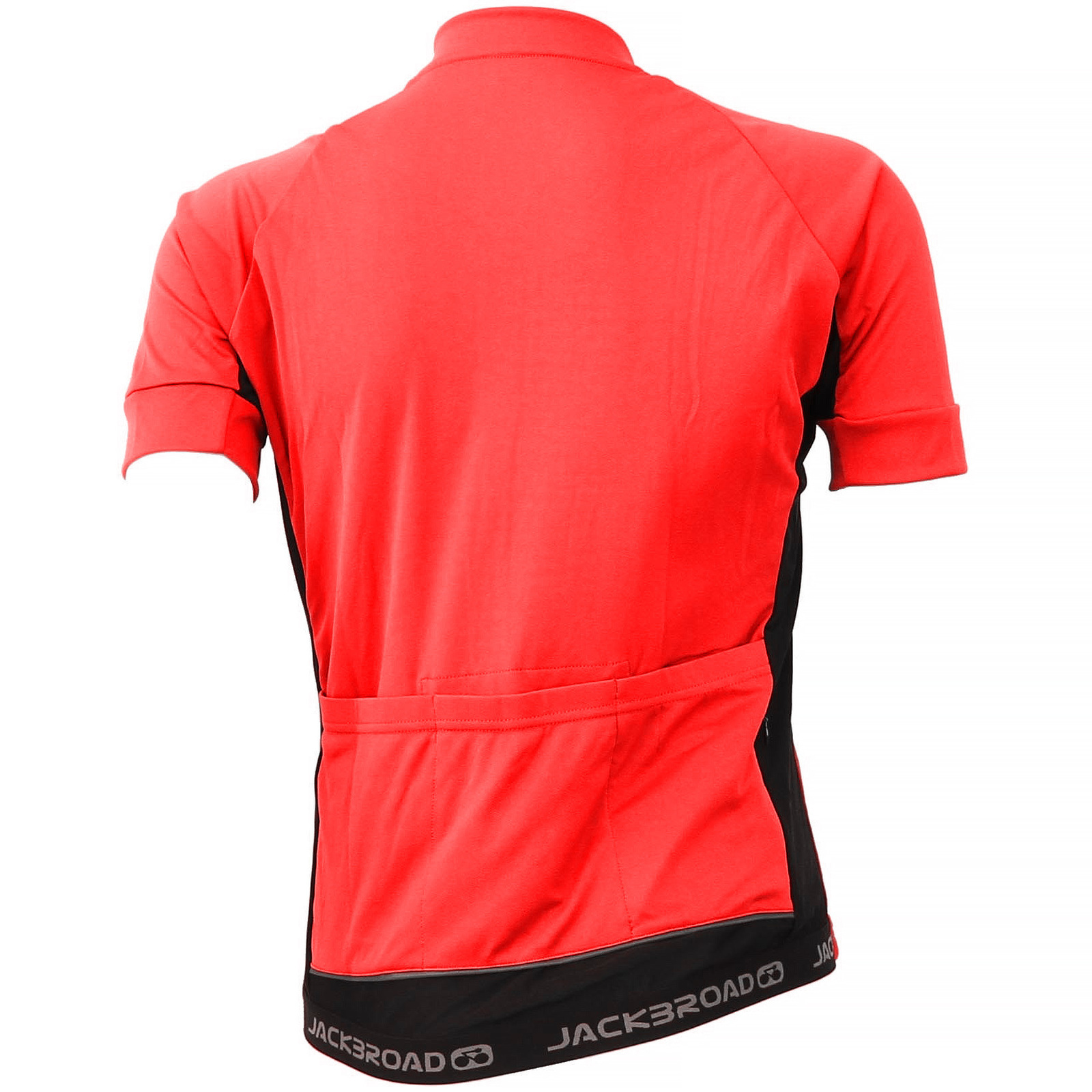 Jackbroad Premium Quality Bike Bicycle Cycling Short Sleeves Jersey Red