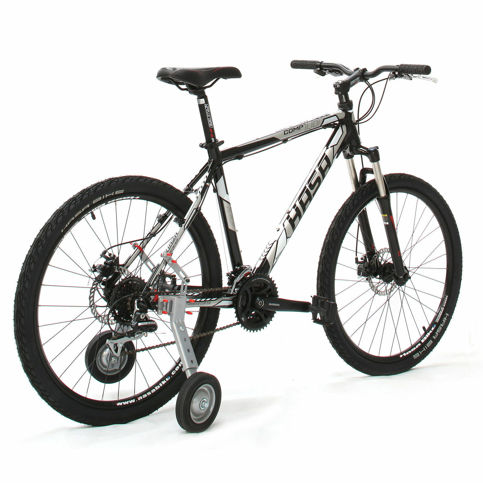 Adjustable Adult Bicycle Bike Training Wheels Fits 24 To