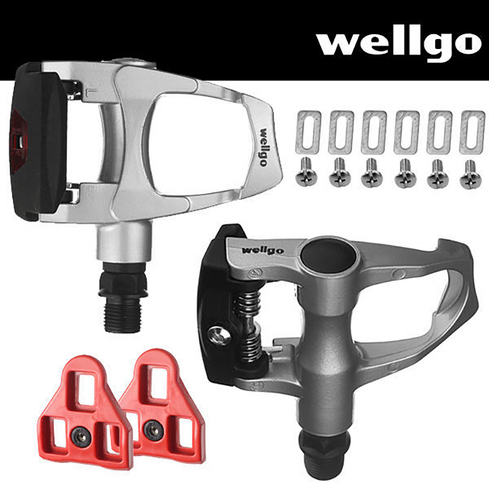Wellgo Road Bike Pedals Look ARC Compatible with Cleats