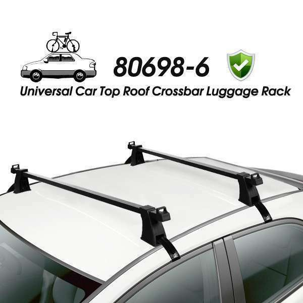 universal car top roof cross bar crossbar luggage rack ebay