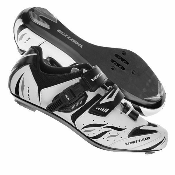Venzo Mountain Bike Bicycle Cycling Shimano Spd Women S Shoes Black