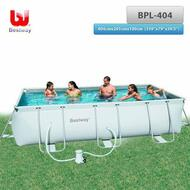 "Bestway Above Ground Steel Frame Swimming Pool 159""x79""x39.5"""