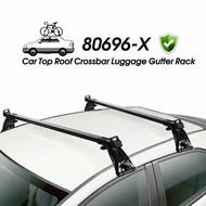 Car Top Roof Cross Bar Crossbar Luggage Gutter Rack