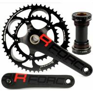DRIVELINE Airforce Road Bike Crankset Shimano 10 Speed Compatible 172.5mm