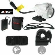 MARWI Bicycle Mountain Road Bike Helmet or Bar Mount Lights LED 3W