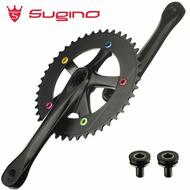 Sugino Track Fixie Bike Crankset Cool Messenger 44T 165mm Black