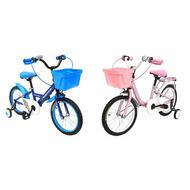 "Venzo Children 16"" Push Kids Bike with Training Wheels"