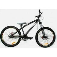 New Reckless 24 inch Alloy Wheels Dirt Jump BMX Bike Pro