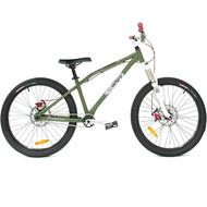 "Reckless DIRT PRO BMX Bike with Cromoly Frame Alloy Wheels 24"" Green"