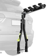 A Frame Twin Pole 4 Bike Tow Ball Car Rack Carrier