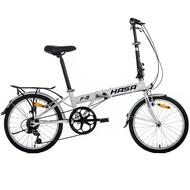 Hasa Folding foldable Bike Shimano 6 Speed