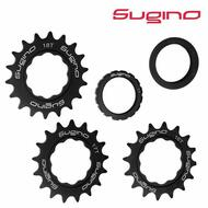 Sugino Fixie Bike Fixed Bike Cog Cluster Set 16T 17T 18T Black
