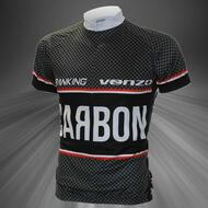 Carbon Type Short Sleeve Cycling Bicycle Jersey M/L/XL/XXL/XXXL