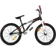 "Reckless MEANIE PRO BMX Bike with Aluminium Frame Alloy Wheels 20"" Black"