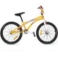 "Reckless MEANIE CR BMX Bike with Cromoly Frame Alloy Wheels 20"" Orange"