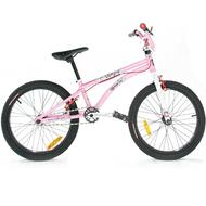 "Reckless MEANIE CR BMX Bike with Cromoly Frame Alloy Wheels 20"" Pink"
