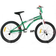 "Reckless MEANIE ST BMX Bike with Alloy Wheels 20"" Green"