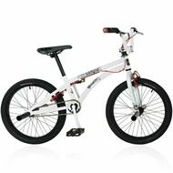 "Reckless MEANIE ST BMX Bike with Alloy Wheels 20"" White"