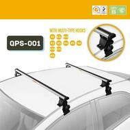 TRAVEL LITE Car Roof Rack Cross Bars For Most Cars 125cm  QPS-01