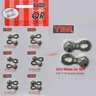 6 Sets Shimano Sram 6 7 8 Speed Chain Quick Lock and Release Links