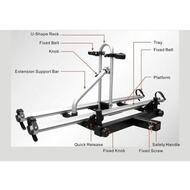 2 Bicycle Bike Rack Hitch Mount Carrier Alloy