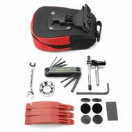 Bicycle Repair Tool Kit With Saddle Bag