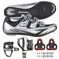 Venzo Road Bike Shoes Look Keo VP Pedals Cleats