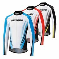 Authentic Shimano Cycling Bicycle Long Jersey Team M/L/XL