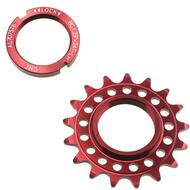 Fixie Fixed Track Single Speed Bike Rear Sprocket Cog Lock Ring 17T