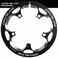 DRIVELINE Bicycle Bike Chainwheel Guard BCD-130mm for 53t