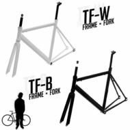 Track Fixie Road Bike Frame with Fork
