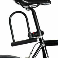 Bicycle Bike Cycling U Lock With Key 180x245mm