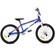 "Reckless VIPER BMX Bike with Hi-ten Frame Alloy Wheels 20"" Blue"