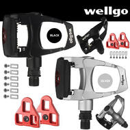 Wellgo Road Bike Pedals (Look ARC Compatible)