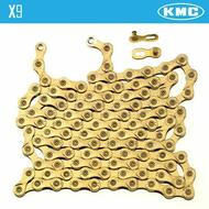 KMC X9 Light Chain Ti & Gold for Shimano Sram 9 Speed
