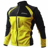 Cycling Bicycle Bike Jersey Wind Rain Jacket Vest Yellow
