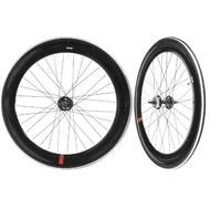Fixie Single Speed Road Bike Track Wheel Wheelset 60mm Deep V Sealed Black