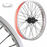 Bmx Bike Wheels/wheelset (Wide Rim) Silver