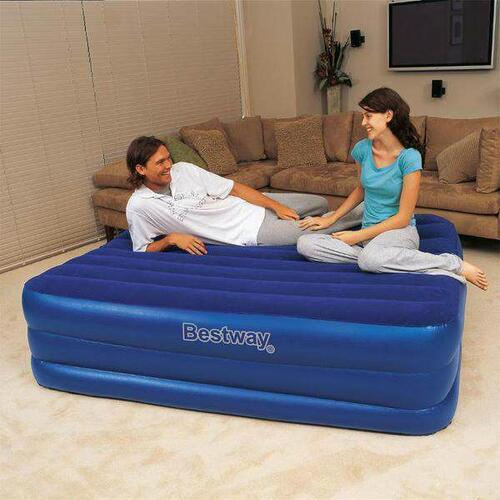 Bestway Comfort Quest Premium Air Bed With Buit-in Pump