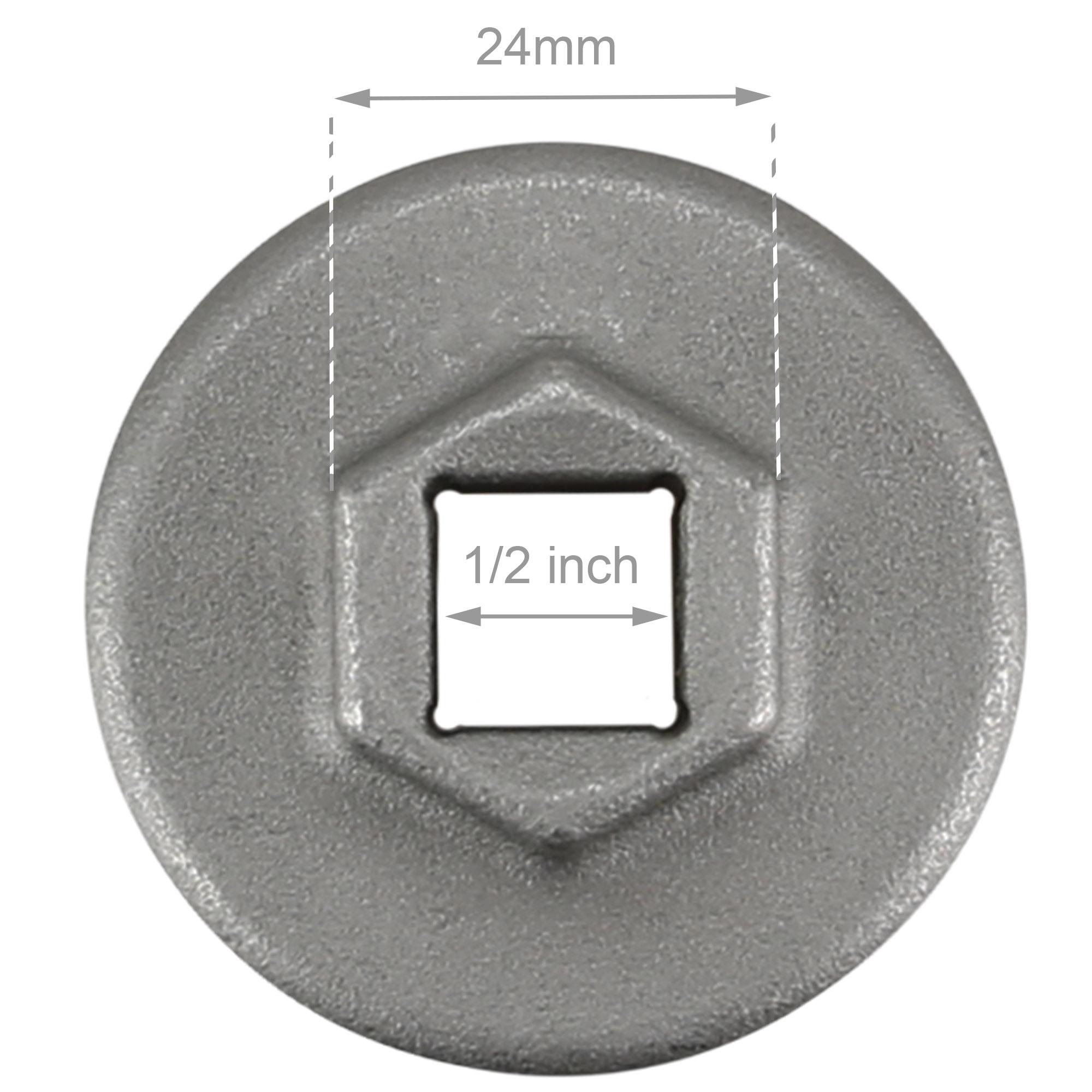 BIKEHAND 46mm Bottom Bracket Remover Tool for SRAM DUB