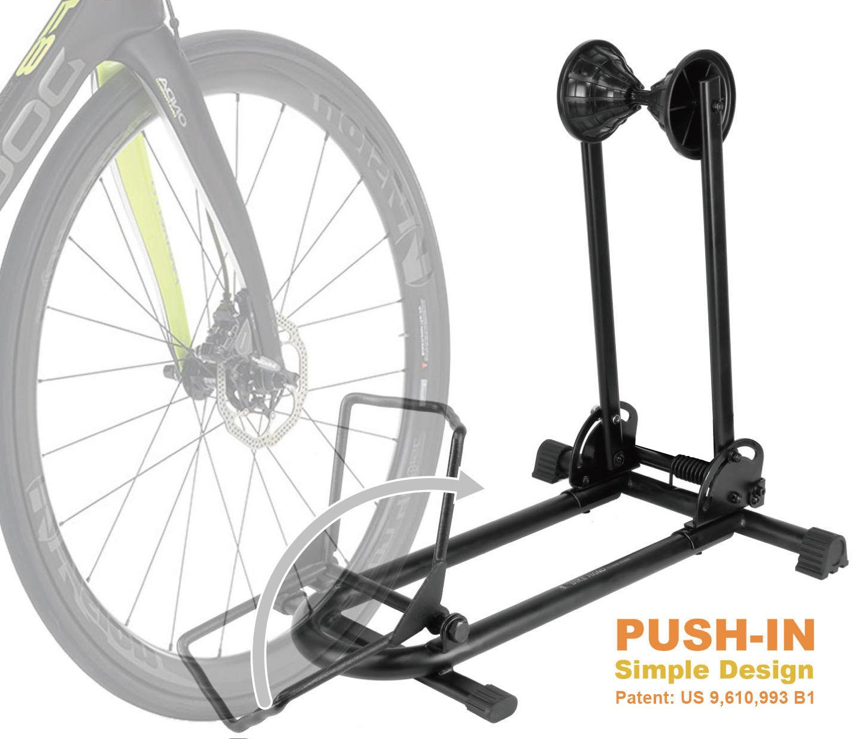 4 Bike Bicycle Floor Parking Rack Storage Stand Cyclingdeal New