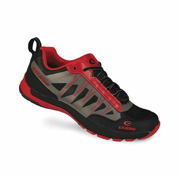 E-SM825 Shimano SPD Type Mountain Bike shoes Red/Blk 40
