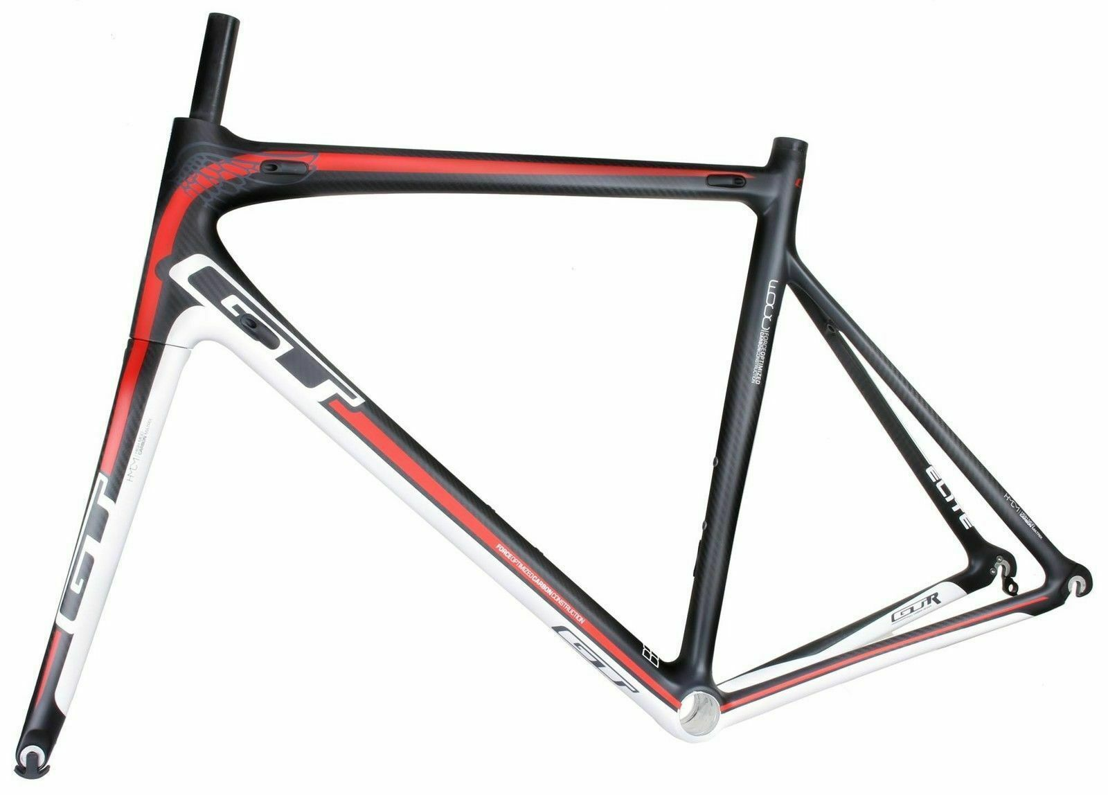 GT GTR ELITE Full Carbon Road Bike Bicycle Frame 56cm 9504157069077 ...