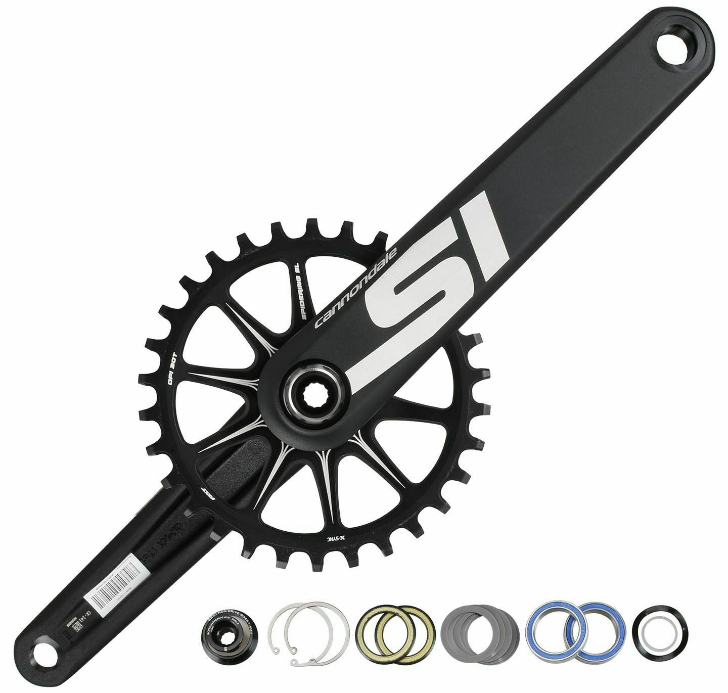b35f66e3874 Buy Cannondale Si BB30 MTB Mountain Bike Crankset 30T 175mm for 9-11 ...