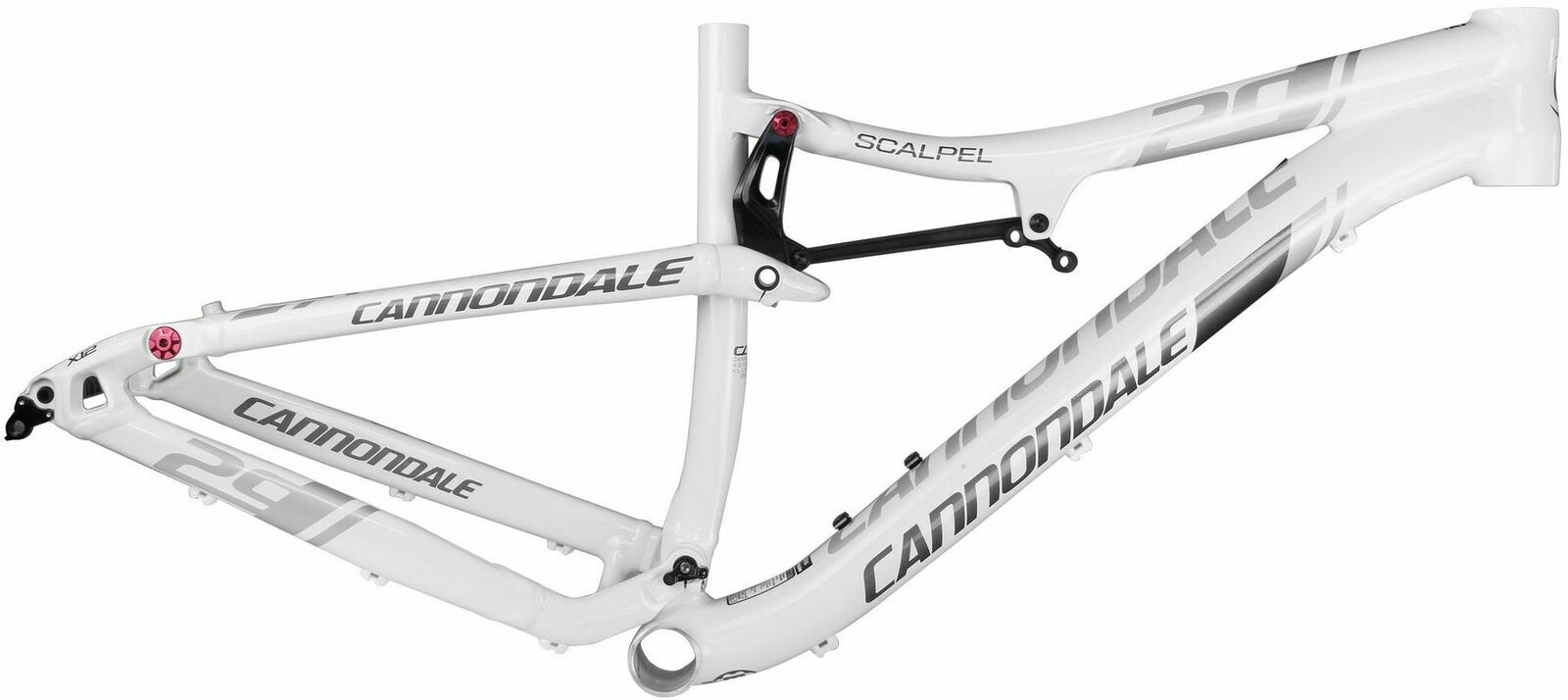 Cannondale Scalpel 29er ALLOY Mountain Bicycle Frame White Size M