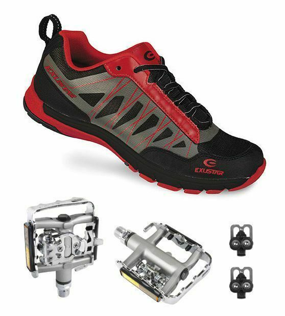 E-SM825 Shimano SPD Type MTB shoes Multi-Use Pedals & Cleats 46