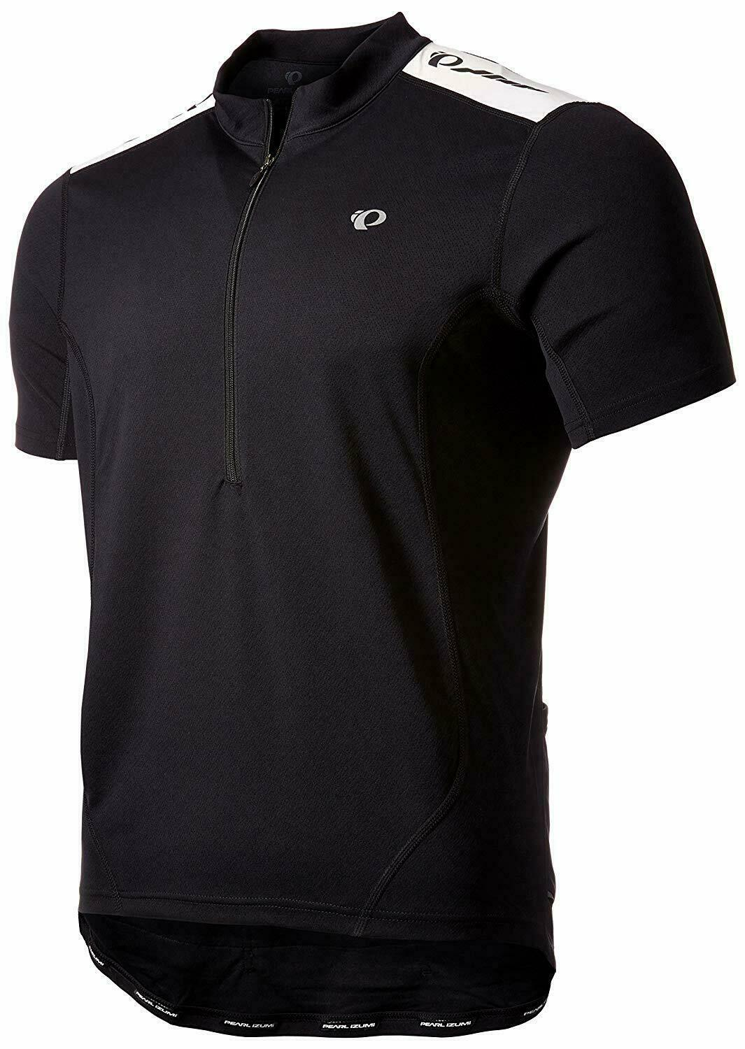 9ddc45cb0 Pearl Izumi QUEST Mens Short Sleeve Cycling Jersey Black Small