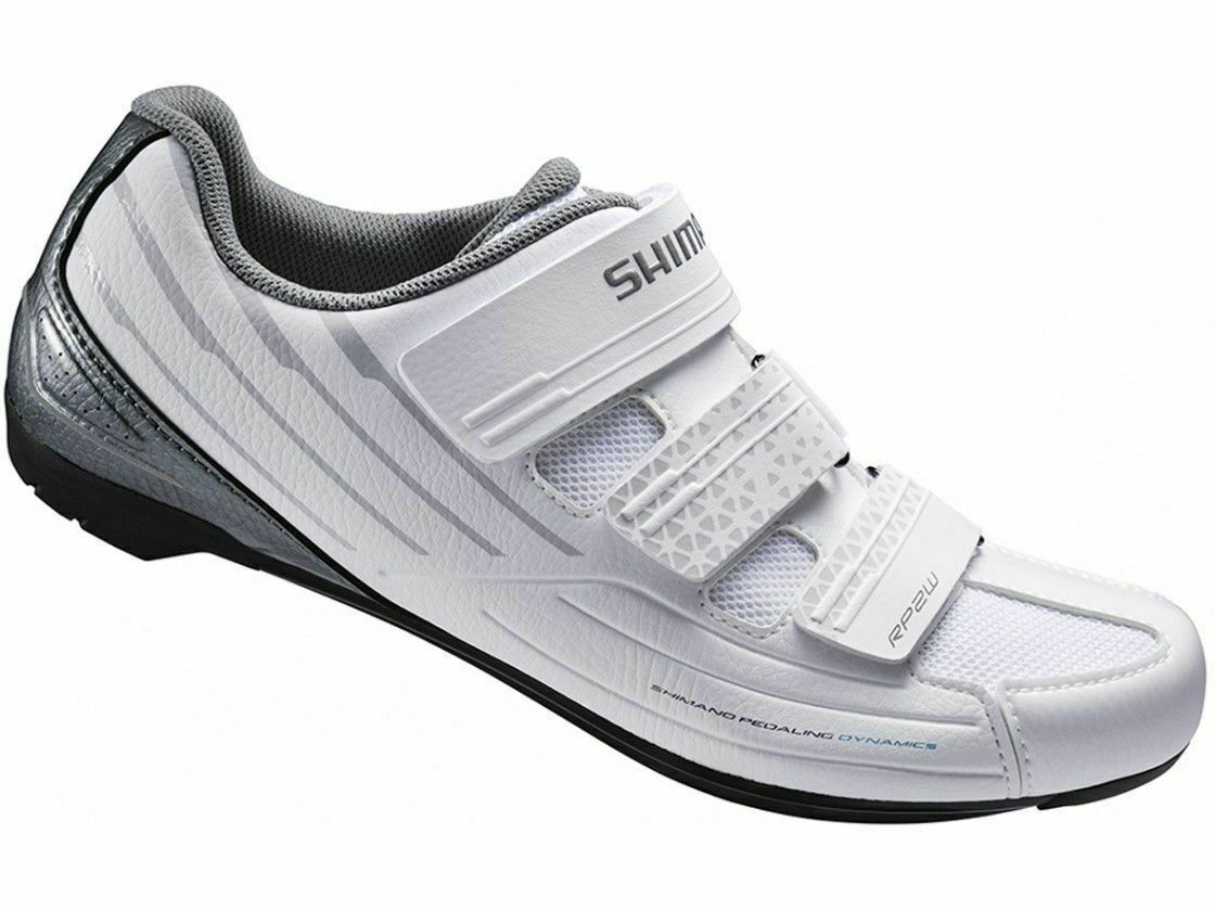 11b2716e242 Buy Shimano SH-RP2 SPD Touring Road Cycling Synthetic Leather White ...